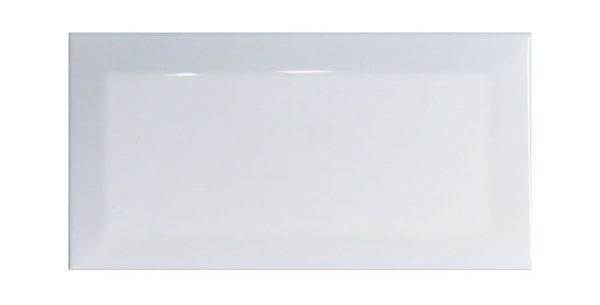 Brick Biselado Blanco