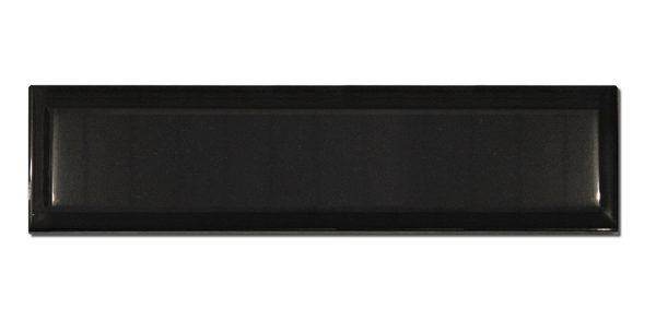 Biselado Negro Brillante 7,5×30
