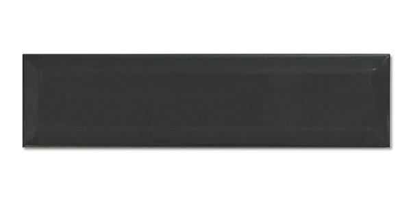 Biselado Negro Mate 7,5×30