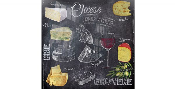 Pizarra Cheese